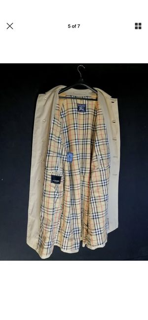 Authentic Vintage Burberry Trench Coat for Sale in Riverside, CA