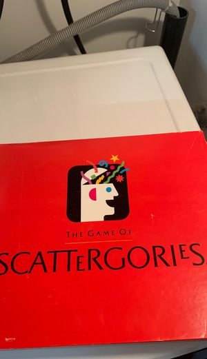Scattergories board game for Sale in San Diego, CA