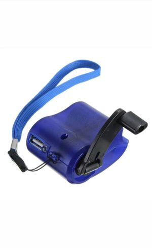 Emergency Power USB Hand Crank SOS Phone Charger Camping Backpack Survival Gear for Sale in Hamilton, OH