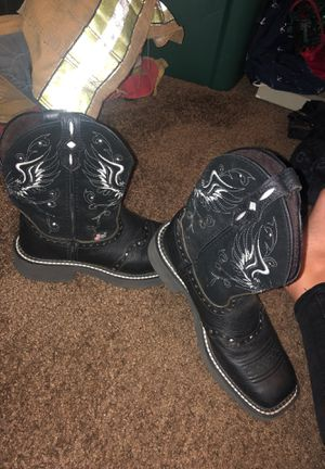 justin boots for Sale in Bartow, FL