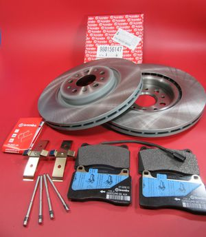 Maserati Ghibli Base Quattroporte front Brembo brake pads disc rotors #107 for Sale in Hallandale Beach, FL