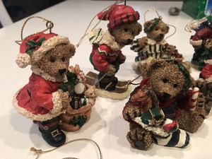 Vintage Bear Christmas Ornaments for Sale in Norco, CA