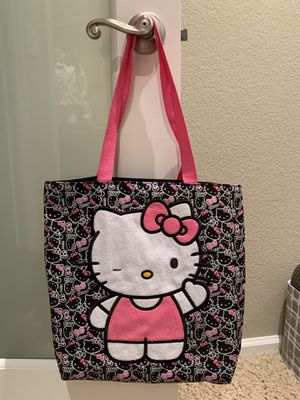 Hello Kitty tote purse bag in excellent condition for Sale in Orange, CA