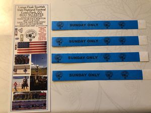4 Highland Festival Tickets for Sale in Fort Collins, CO