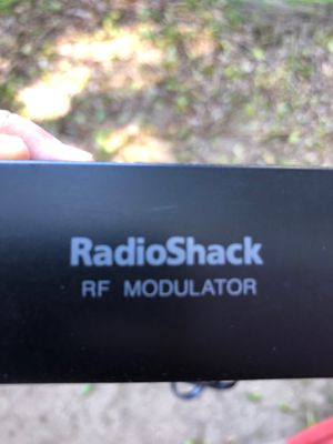 RadioShack RF modulator for Sale in US