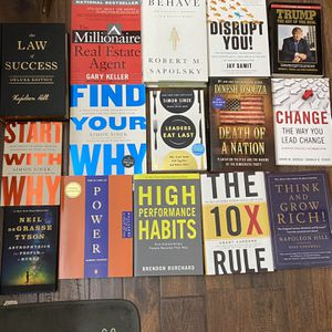 Business/Self Developement Books for Sale in Woodburn, OR