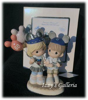 Disney Precious Moments 60th Anniversary Couple Figurine Disneyland New In Box for Sale in Moreno Valley, CA