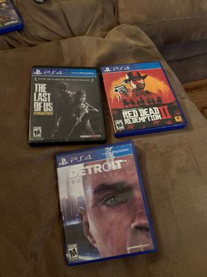 PS4 games for Sale in Tallahassee, FL