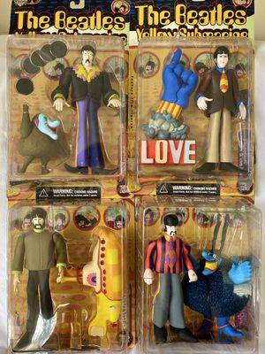 The Beatles Yellow Submarine Figure Set by McFarlane Toys for Sale in Neshanic Station, NJ