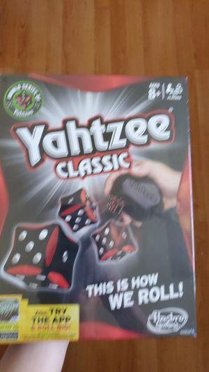 New Yahtzee Classic Hasbro RARE Black & Red Version Board Game for Sale in Weston, FL