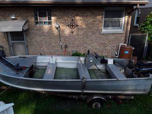 16ft aluminum boat Sea Nymph for Sale in Hillside, IL