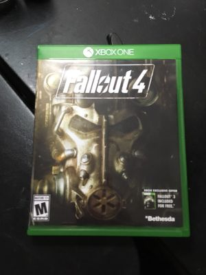 Fallout 4 Xbox one used for Sale in Ellensburg, WA
