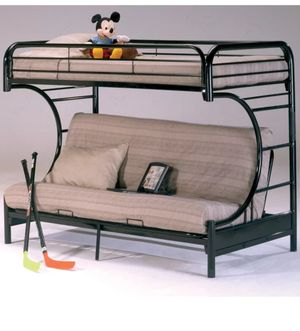Dawnview Twin Over Full Futon Bunk Bed for Sale in San Marcos, CA