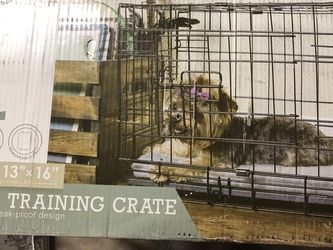 """20x13x16 Dog Crates for Small Dogs - Dog Crate 20"""" Pet Cage Single-Door Best for Puppy & Kitten Pets - Wire Metal Kennel Cages with Divider Panel & Tr for Sale in Long Beach,  CA"""