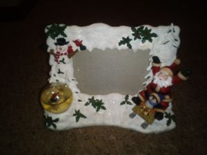 Christmas Santa Claus Picture Frame for Sale in Lake Hallie, WI