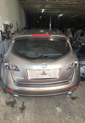 2009 Nissan Murano for parts parting out oem part partes engine door tailgate ac compressor bag bumper and more for Sale in Opa-locka, FL
