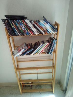 Bookshelves or movie shelve for Sale in Merced, CA
