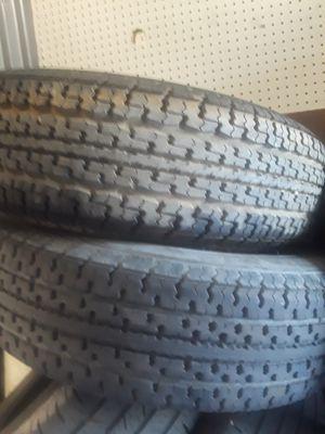 """(2)*""""225/75/15 trailer tires (10 ply) for Sale in Salt Lake City, UT"""