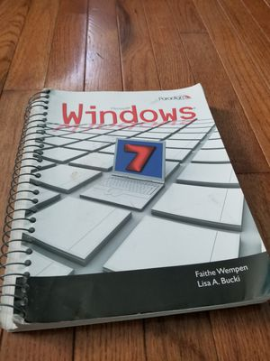 Windows 7 textbook for Sale in Rockville, MD