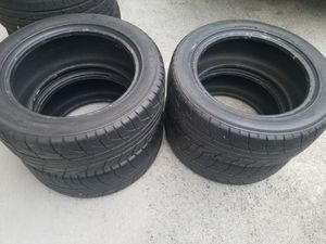 Staggered tires: 205 50 16 and 225 50 16 tires for Sale in Federal Way, WA