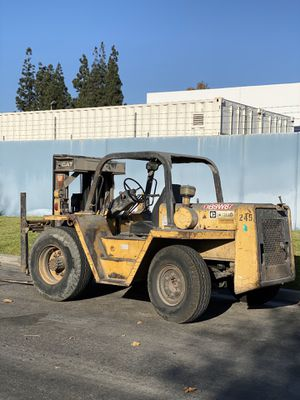 Caterpillar Forklift RC60 Rough Terrain Tires for Sale in Anaheim, CA