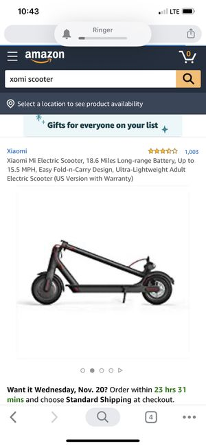 Xiaomi scooter for Sale in Inglewood, CA