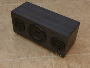 Bluetooth Speaker Sharper Image Wireless Wooden battery or USB Great Sound for Sale in Davenport, FL