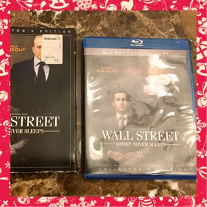 Blu-Ray DVD Wall Street Money Never Sleeps Movie for Sale in Spring Hill, FL