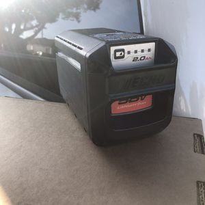 Echo 58v lithium ion battery 2ah for Sale in Santa Ana, CA