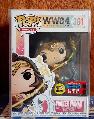 Funko POP Wonder Woman NYCC shared Exclusive GITD for Sale in Pico Rivera, CA