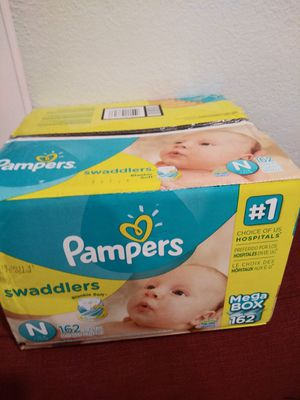 Pampers NB 162 total Priority to soonest pick up Only no Holds Lower offer will ignored $35 firm for Sale in Vallejo, CA