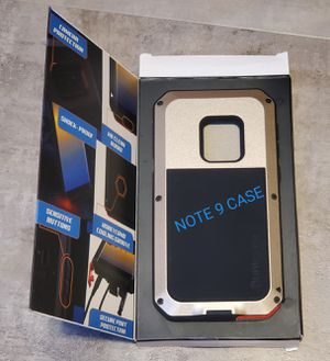 Punkcase Heavy Duty Metal Armor Case for Samsung Note 9 for Sale in Chino, CA