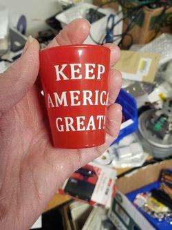 Trump Shot Glass - Keep America Great for Sale in Vineyard,  UT