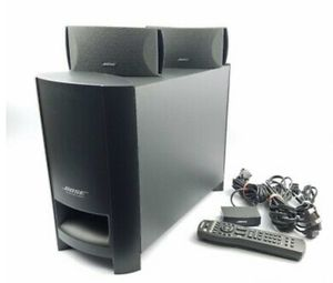 *Reduced* BOSE Cinemate (Series ii) - Digital Home Theater Speaker System with Remote for Sale in Leander, TX