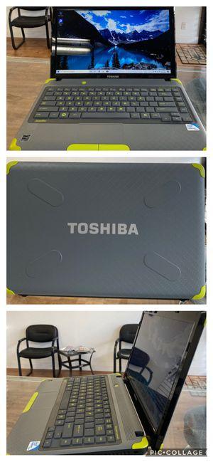 "Toshiba L735D 13.3"" kids friendly laptop. 6gb RAM, 250gb HDD, Windows 10 for Sale in Oakland Park, FL"