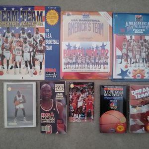 USA 1992 NBA Dream Team Lot Jordan Cards for Sale in Irvine, CA