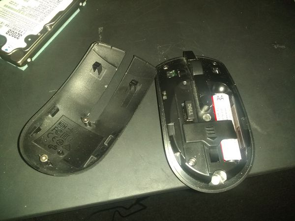 Dell wireless usb mouse