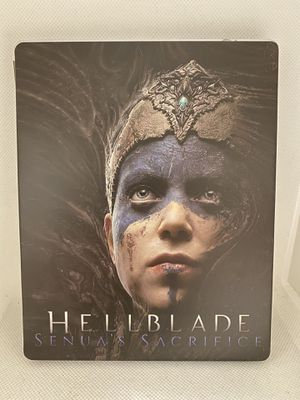 Hellblade Custom Steelbook Case PS4/XBOX1 for Sale in Daly City, CA