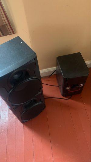 Blackweb Bluetooth speaker....model # BWD19AAA06 for Sale in Detroit, MI