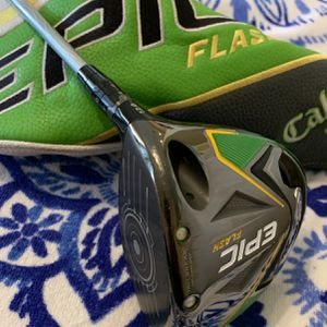 Callaway EPIC Flash Golf Driver 12.0 with Even Flow Project X 4.0•W 45G Senior or Lady Flex Shaft Excellent Condition for Sale in Weston, FL