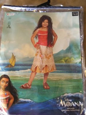 Disney Moana Costume for Sale in Hialeah, FL