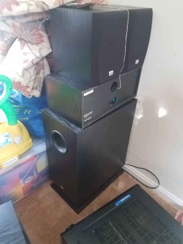 Onkyo HT R500 surround sound