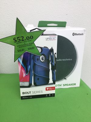 Bluetooth speaker and case bundle for Sale in Victoria, TX