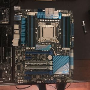 I7-3820 on P9X79 Pro Mb 6gb Ddr3, H81m-hds With I5-4460 8gb Ddr3, and H110m-a With I5-6600k and 8gb Ddr4 also have cpus and parts you can dig through for Sale in Folsom, CA