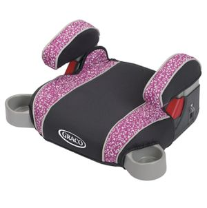Graco Backless Booster Seat - Purple Hearts ***USED*** for Sale in South El Monte, CA