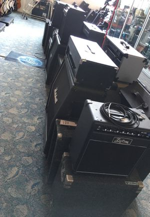 Massive guita and bass keyboard amp amplifier music production collection sale blowout for Sale in Huntington Beach, CA