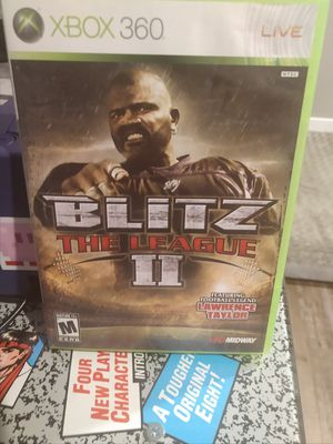 Xbox 360 Game Blitz The League II for Sale in Vancouver, WA