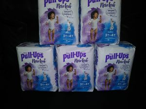 HUGGIES PULL-UPS SIZE 3T-4T for Sale in Phoenix, AZ