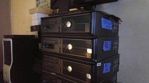 Dell towers loaded and ready with 4 Gb, New 250 Gb hard drives Core 2 run like new for Sale in Miami, FL