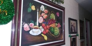 Big fruit picture frame for Sale in Dundee, FL